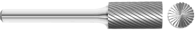 Carbide Cylindrical End Cut Burrs