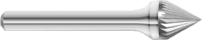 Carbide Taper 60° Included Angle Burrs